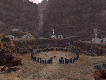 Fallout New Vegas Great Khan Red Rock Canyon (4)
