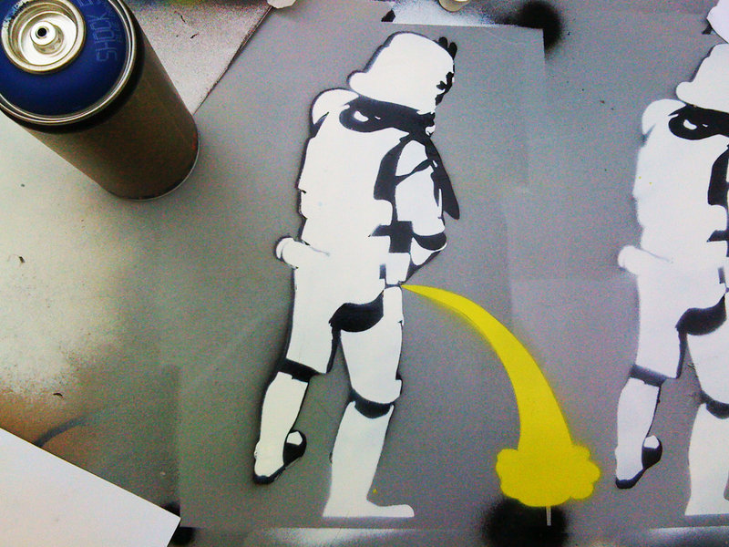 Drunk stormtroopers by no0t-d2xf1n5