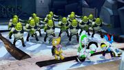 Shrek clones