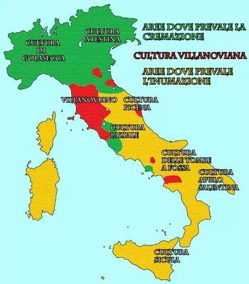 Italia - età del ferro