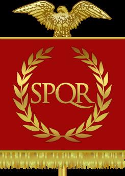 Vessillo dell'Impero Romano