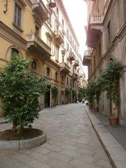 Via della Spiga - Milano - Quadrilatero della moda