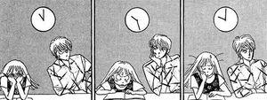 V1CH2 - Naoki and Kotoko Studying