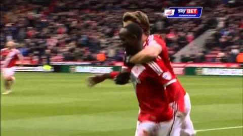 Middlesbrough 4-1 Ipswich (2014-15 season)