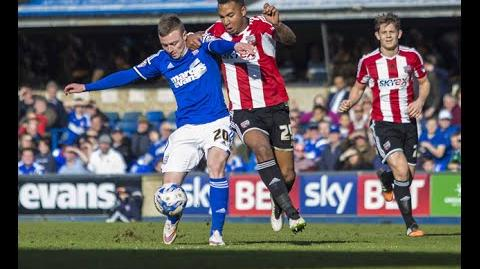 Ipswich 1-1 Brentford (2014-15 season)