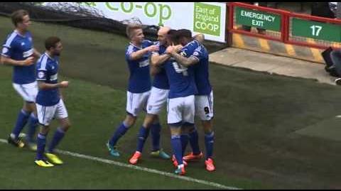 Ipswich 2-0 Rotherham (2014-15 season)