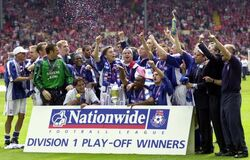 First Division Play Off Winners 1999-2000