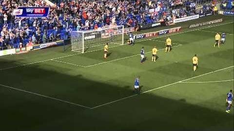 Ipswich 2-0 Millwall (2014-15 season)