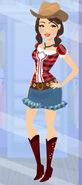 Costume Cowgirl