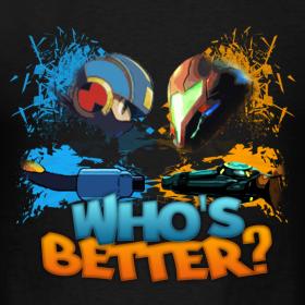 Megaman-vs-samus design