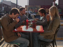 1x1 Gang having breakfast