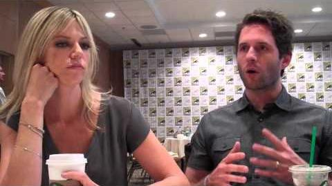 Kaitlin Olson and Glenn Howerton Interview — Comic Con 2013 — It's Always Sunny in Philadelphia
