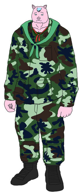 Chanon saiwilai army pig soldier . millitary ชานนท์ สายวิลัย