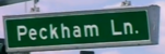Peckham lane