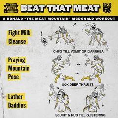 Mac's workout instructions.