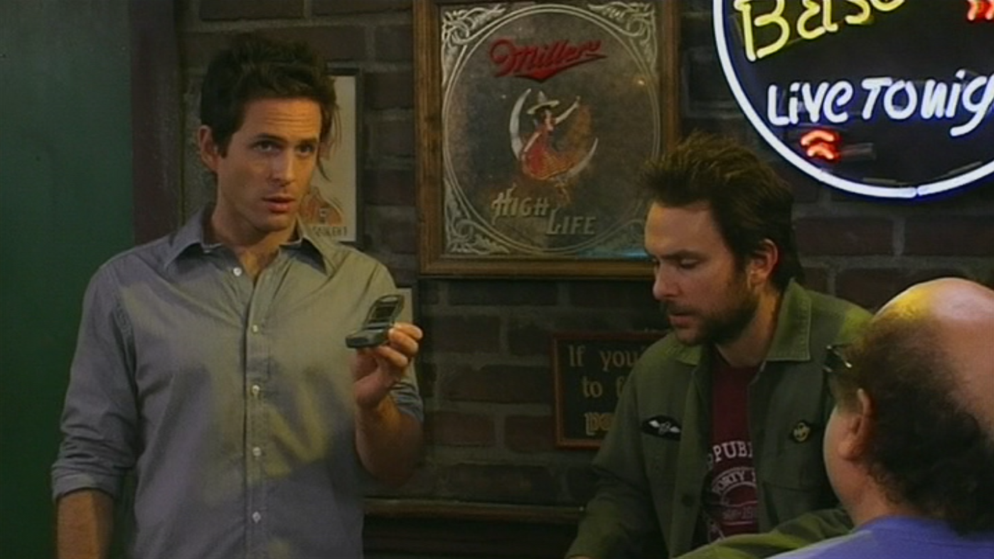 Dennis and mac setting up a profile on a hookup site for charlie