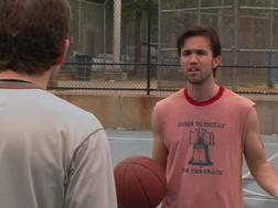 1x2 Mac plays basketball