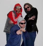 Rob, Charlie and Glenn