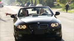 He loaned this BMW not only to Dee
