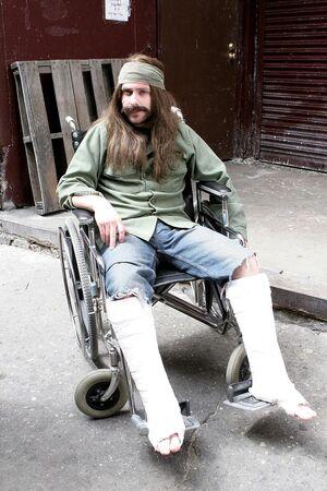 2x1 Charlie Gets Crippled Nam vet