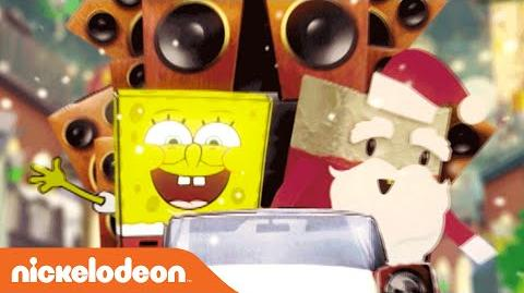 "It's A SpongeBob Christmas ""Don't Be a Jerk It's Christmas"" Karaoke Music Video Nick"