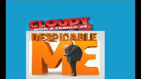 Cloudy with a Chance of Despicable Me Super Bowl ad (fan made)