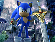 Sonic and The Black Knight by baddeejay33