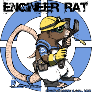 Engineer Rat by d6016