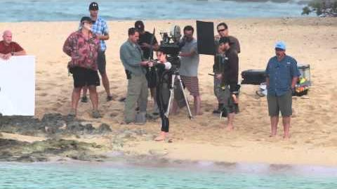 Catching Fire - Hawaii Filming Footage
