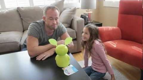 Funny Video of Dad Talking to a Fijit Friend - with Sonic Chirp!