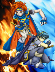 Roy and Marth by assofdeviant