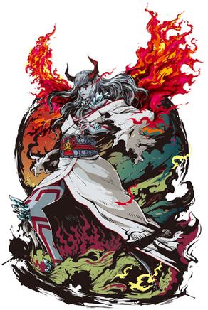 Devil kazumi illustration jbstyle