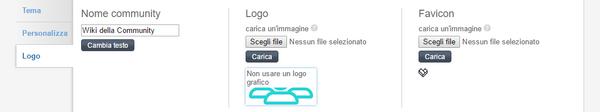 Scheda logo theme designer