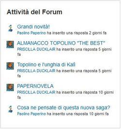 Attività forum