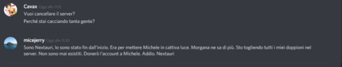 Micejerry Nextauri rivelato