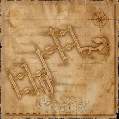 Mappa della Fogne di Vizima