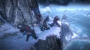 Tw3 cliff fight