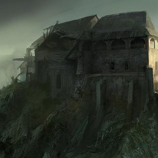 Antico Castello di giorno - concept art