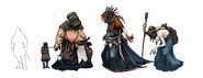 Tw3 concept art witches