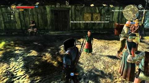 The Witcher 2 - Combat Magic Troll Trouble DLC - Part 1