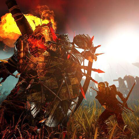 Geralt affronta il Draug