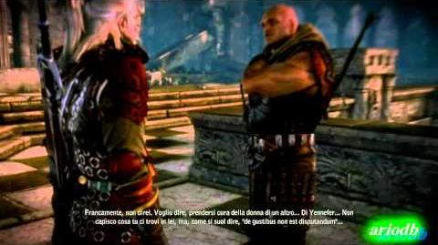 The Witcher 2 gameplay Epilogo THE END FINALE - Letho Fight