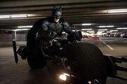 Batman on the Bat Pod