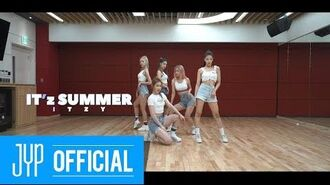 "ITZY ""IT'z SUMMER"" Dance Practice"