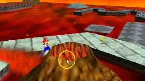 Super Mario 64 Bloopers Mario Jumps to the Castle