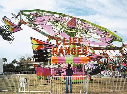 Image result for cliffhanger amusement ride
