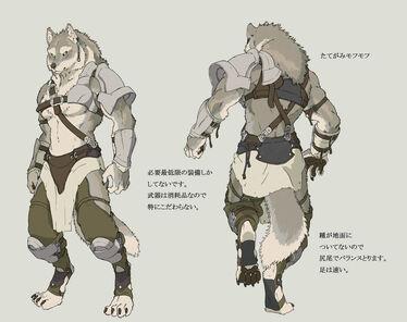 Werewolf s soldier2 by koutanagamori