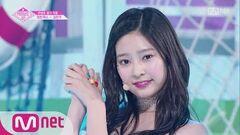 PRODUCE48 단독 직캠 일대일아이컨택ㅣ김민주 - ♬1000% @콘셉트 평가 180817 EP