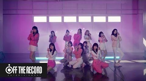 IZ*ONE (아이즈원) - 'SPACESHIP' Choreography (Close up ver