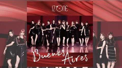 AUDIO IZ*ONE 아이즈원 (アイズワン) - Tomorrow